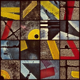 Series: Asphalt Paintings